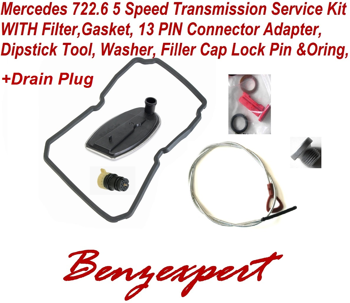 Aftermarket Mercedes 722.6 Service Kit with Dipstick