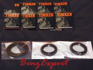 Bearings and seals for W164, X164, and W251